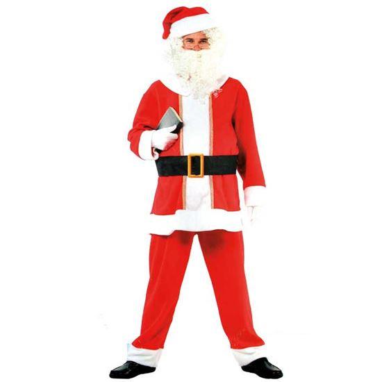 kerstman met baardstel