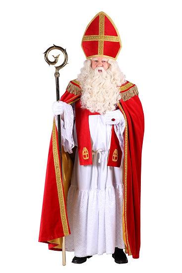 Sinterklaaskostuum  4 delig low budget