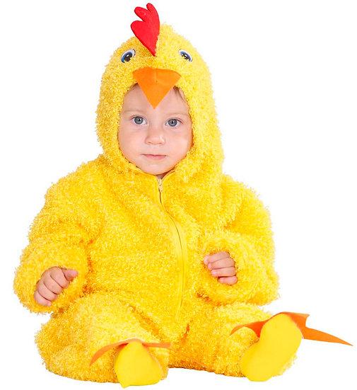 donzige kip geel
