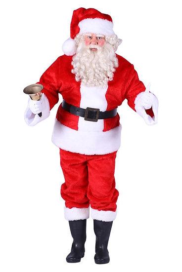 kerstman pluche rood