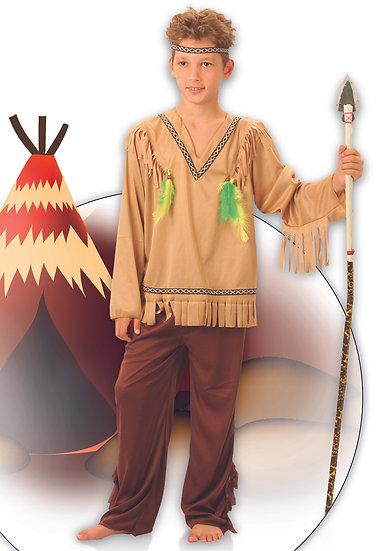 indiaan kostuum jongen