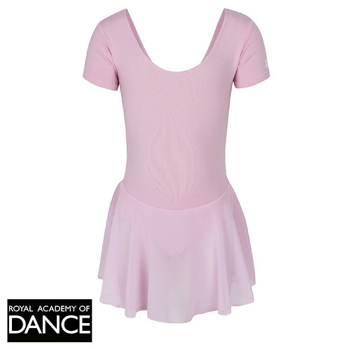 Official RAD Pink Leotard with adjoining skirt