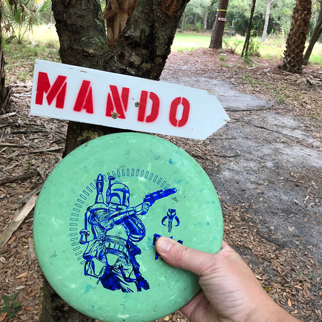 Mando at Gordy