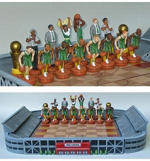Basketball Chess Set
