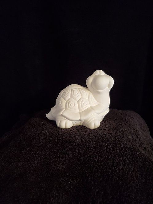 Small Smiling Turtle Figurine