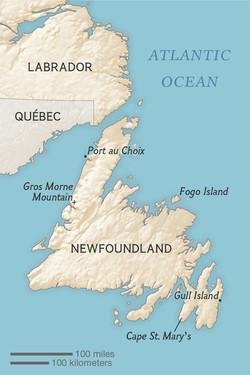 Newfoundland, for Explorer Magazine