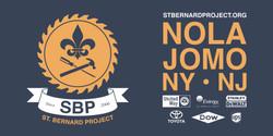 T-shirt design for St. Bernard Project