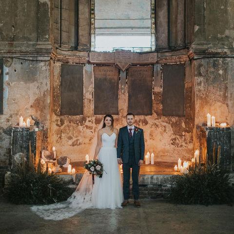 Asylum Chapel Wedding Flowers