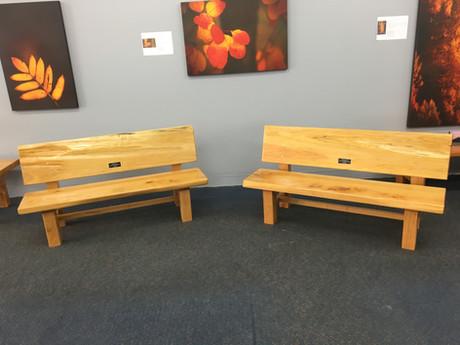 small slab garden seats