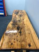 1.8m natural slab bar leaner