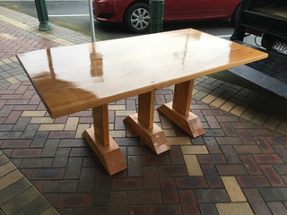 2.1m dining table