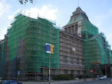 Remont gmachu Muzeum Narodowego w Szczecinie