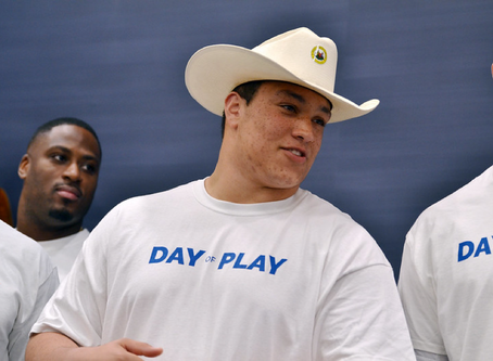 ZACH DAVIS: GET MOVING CAMPAIGN PRESENTS OPPORTUNITY FOR WVU FOOTBALL TO GIVE BACK