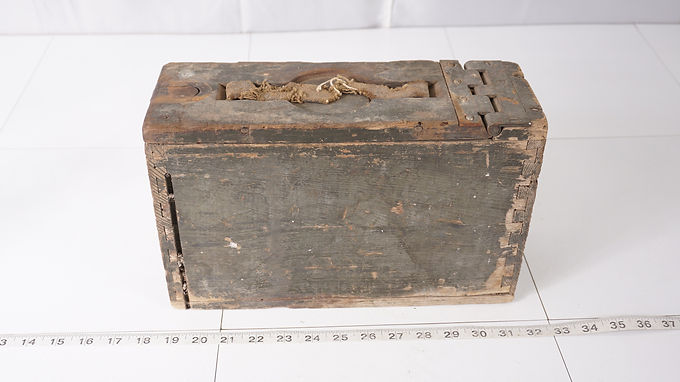 Wooden Ammo Box