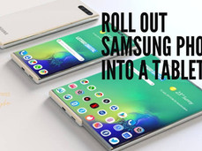 Roll Out Samsung Phone in to a Tablet, like the LG Rollable