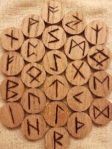 Elder Futhark Oak Runes