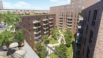 Veritas Contact working on Pershore Street, Birmingham for Galliard Homes