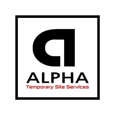 Alpha Temporarty Site Services Logo by Designs on the Web