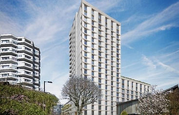 Veritas Contact working on Croydon Tower Residential Development for Henry Construction