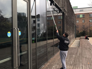 PROFESSIONAL COMMERCIAL WINDOW CLEANING