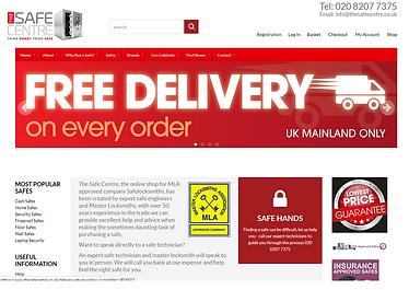E-commerce shopping cart technology website