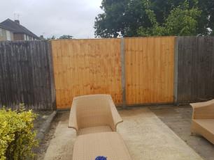 New Fence Panels for Borehamwood
