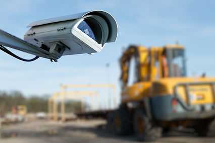 Security CCTV camera or surveillance systems for UK Building Development Projects
