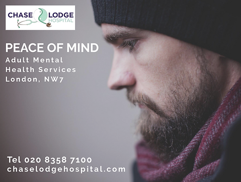 Adult Mental Health Social Media Post for Chase Lodge Hospital, Mill Hill by Designs on the Web