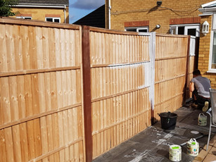 Life on the Hedge Garden Fence Installation