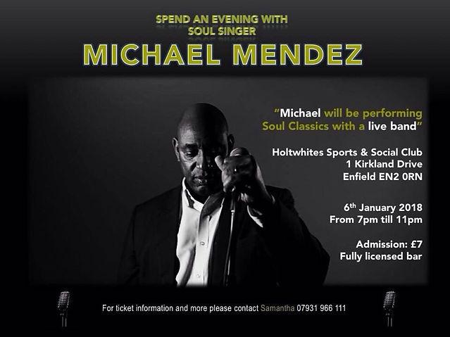 Michael Mendez Soul Singer