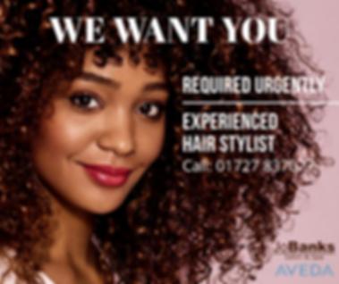 Jo Banks Hair Stylist Job Jan 2020.png