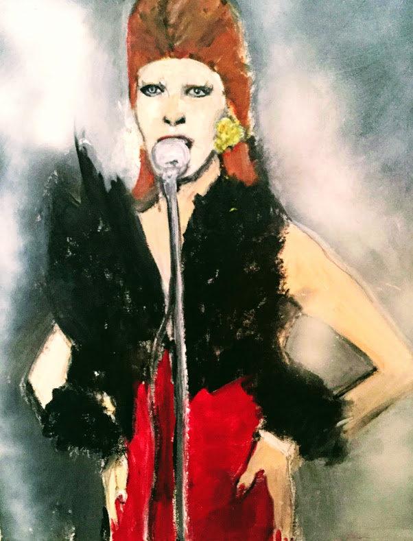 Original Portrait of David Bowie