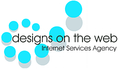 Logo for Designs on the Web, UK Website Development