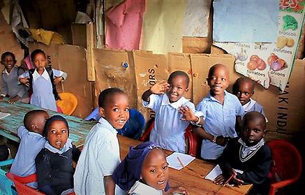 Class room in Narok