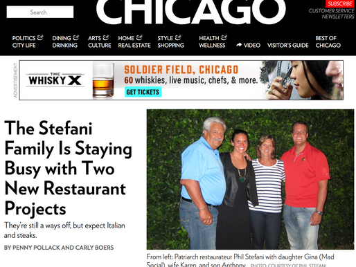 The Stefani Family Is Staying Busy with Two New Restaurant Projects