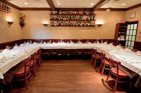 Tuscany Private Dining Room alternate configuration