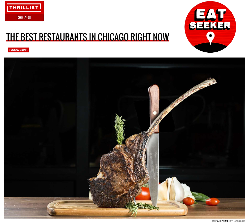 Thillist Chicago. THE BEST RESTAURANTS IN CHICAGO RIGHT NOW featuring BEST NEW OPENINGS.  STEFANI PRIME Bringing  Downtown vibes in the 'burbs. In lincolnwood