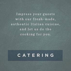 Tuscany Taylor Catering Menu