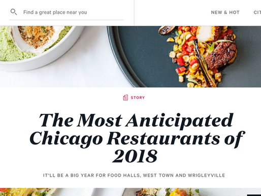 The Most Anticipated Chicago Restaurants of 2018