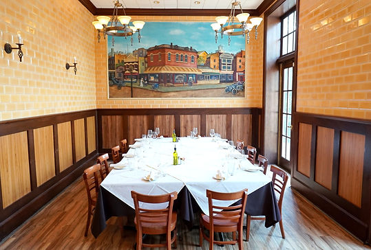 Montecatini Private Dining Room
