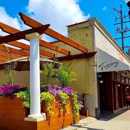 Tuscany Restaurant on Taylor Street
