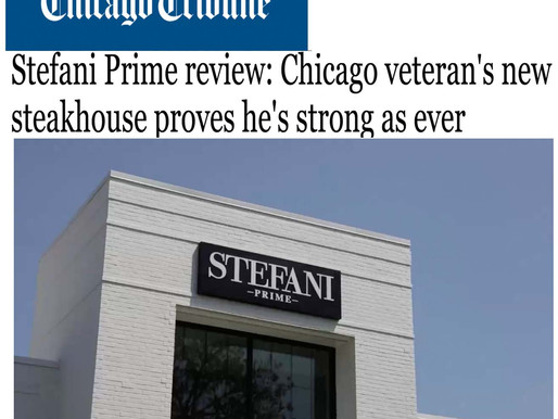 Stefani Prime review: Chicago veteran's new steakhouse proves he's strong as ever