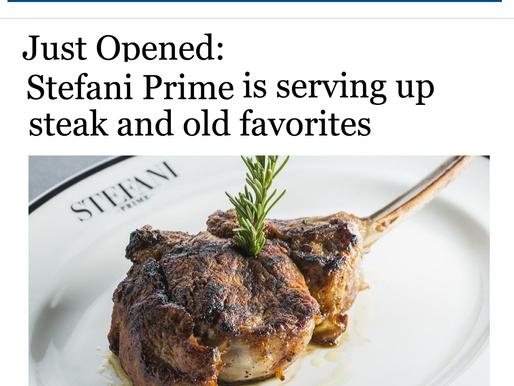 Just Opened: Stefani Prime is serving up steak and old favorites
