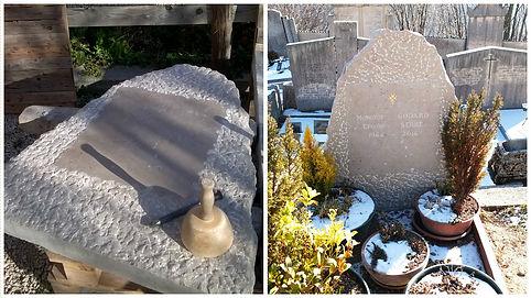 Stèle Monument funéraire traditionel en calcaire