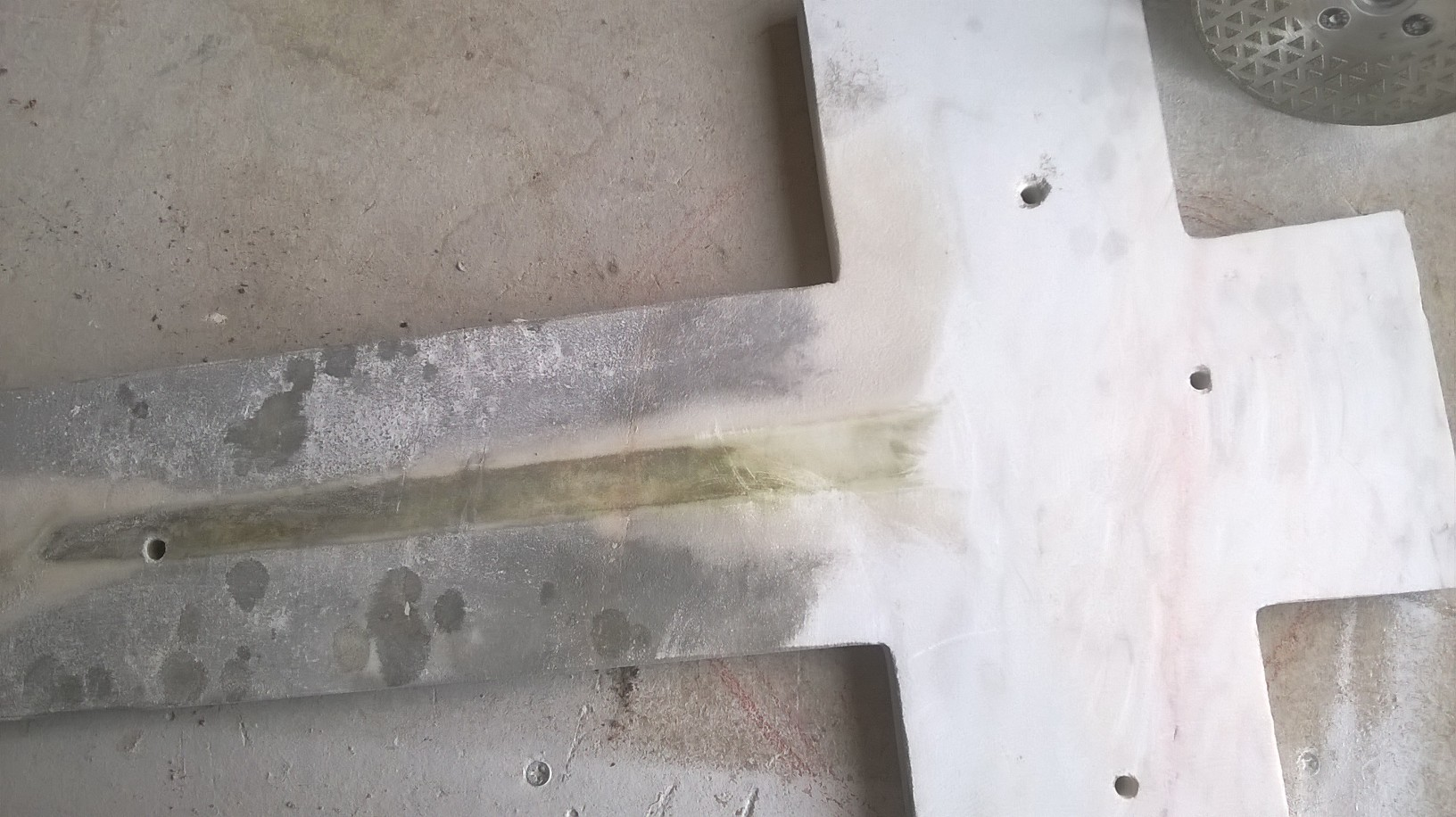 Ponçage du marbre