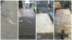 Restauration pierre tombale