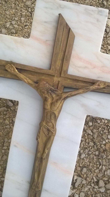 Détail du marbre et bronze