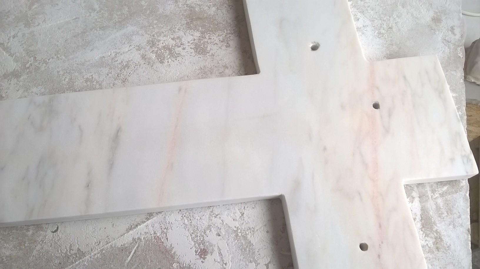 Polissage du marbre