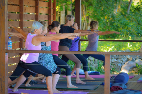 The yoga class