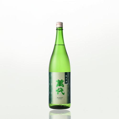 萬代 純米酒(糸島産山田錦)1.8L